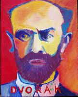 Dvorak - original acrylic - 8 x 10 - click here for a larger image (~32KB)