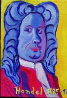 Handel - original acrylic - 8 x 10 - click here for a larger image (~33KB)